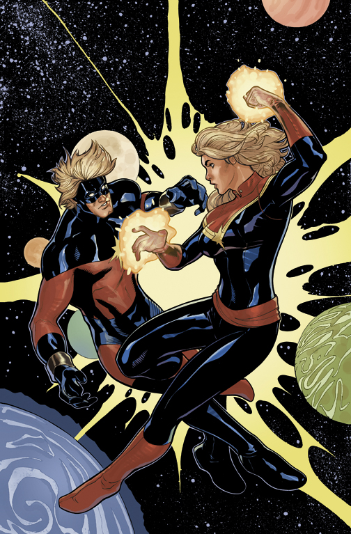 Captain Marvel #6 Cover by TerryDodson