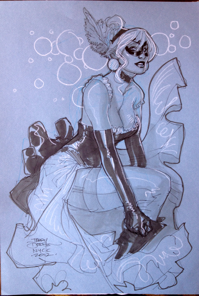 CHATTE NOIRE DEUX NYCC2012 by TerryDodson