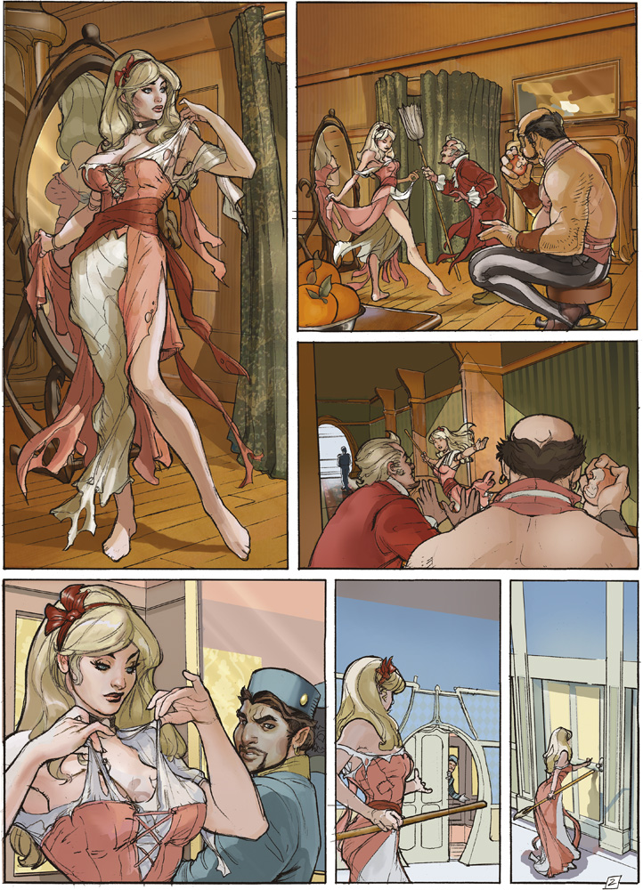 Songes Tome  2 Page 2 Final Art by TerryDodson