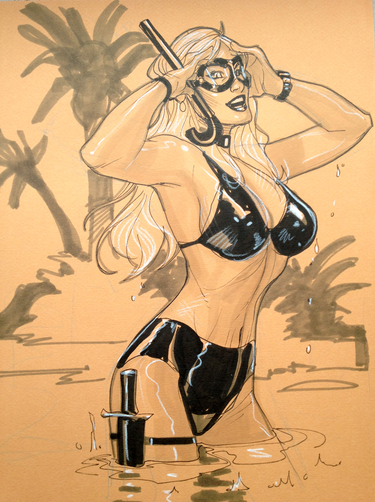 Black Cat Hawaii NYCC 2012 by TerryDodson