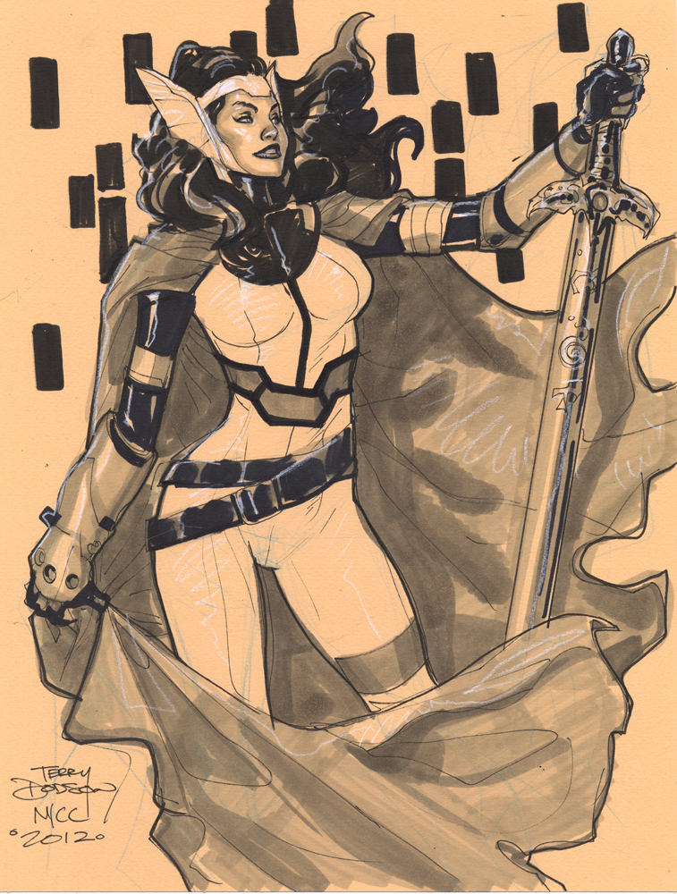 SIF NYCC 2012 by TerryDodson