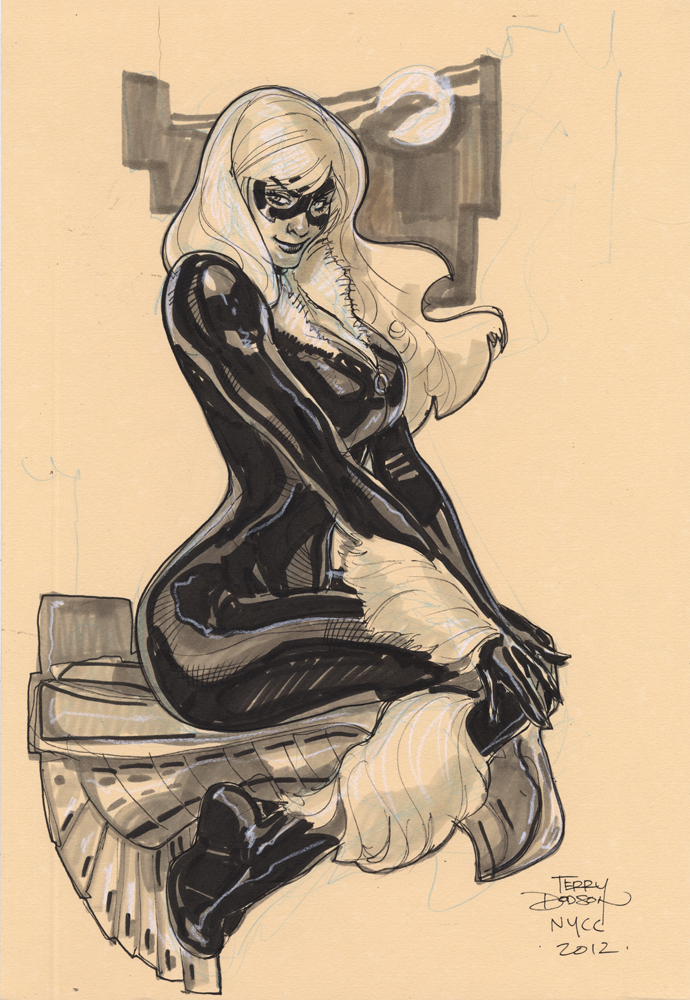 Black Cat NYCC 2012 by TerryDodson