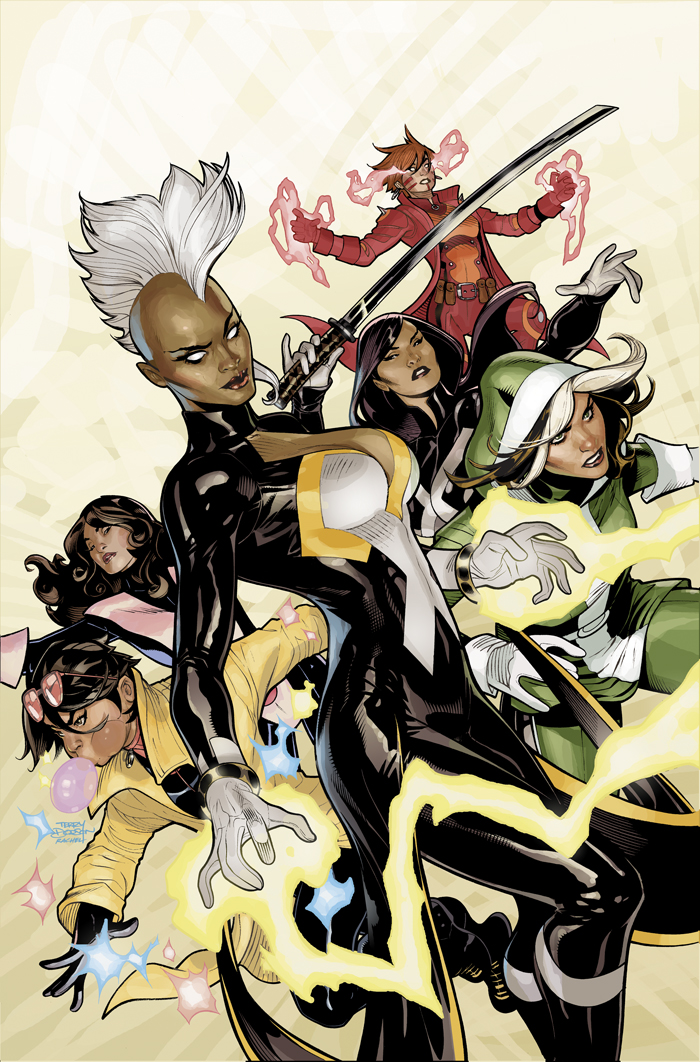 X-Men #1 Cover by TerryDodson
