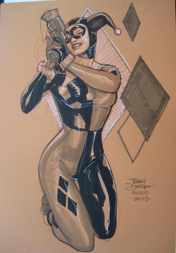 Harley Quinn ECCC 2013 by TerryDodson