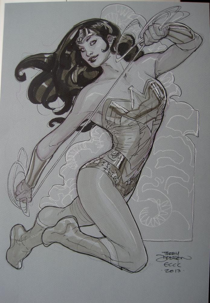 Wonder Woman ECCC 2013 by TerryDodson