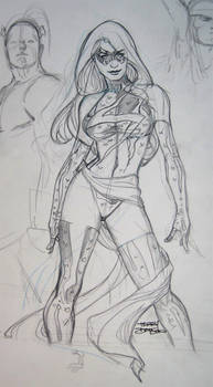 MS MARVEL Sketch