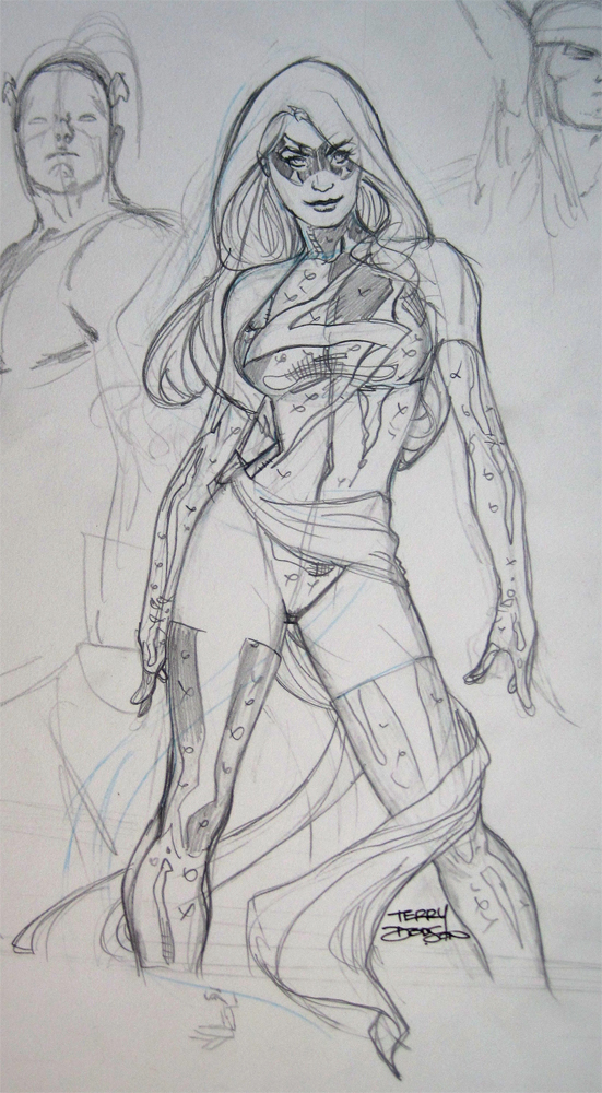 MS MARVEL Sketch by TerryDodson