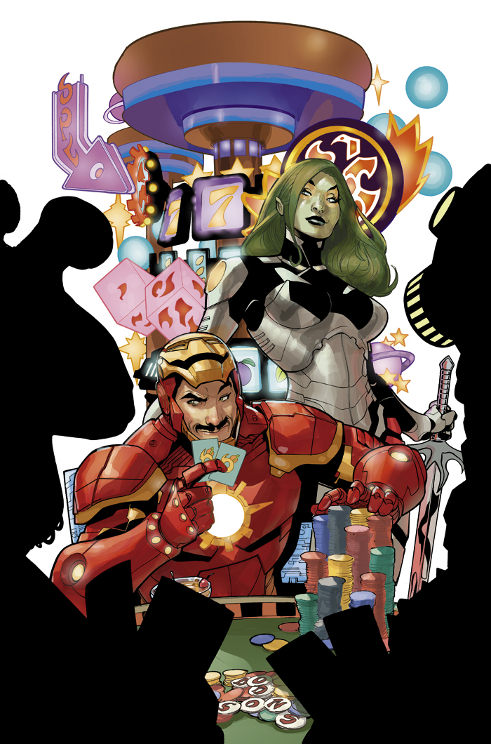 Guardians of the Galaxy #1 Variant Cover by TerryDodson