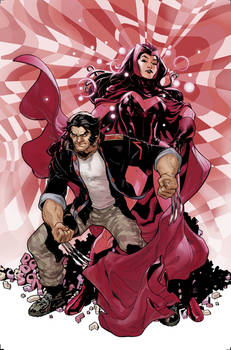 New Avengers #7 Wolverine House of M Variant Cover