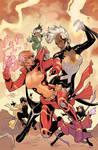 X-Men #5 Variant Cover Color