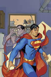 Superman Unchained 2 Modern Age Cover by TerryDodson