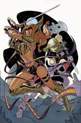 Guardians of the Galaxy #5 Angela Cover by TerryDodson