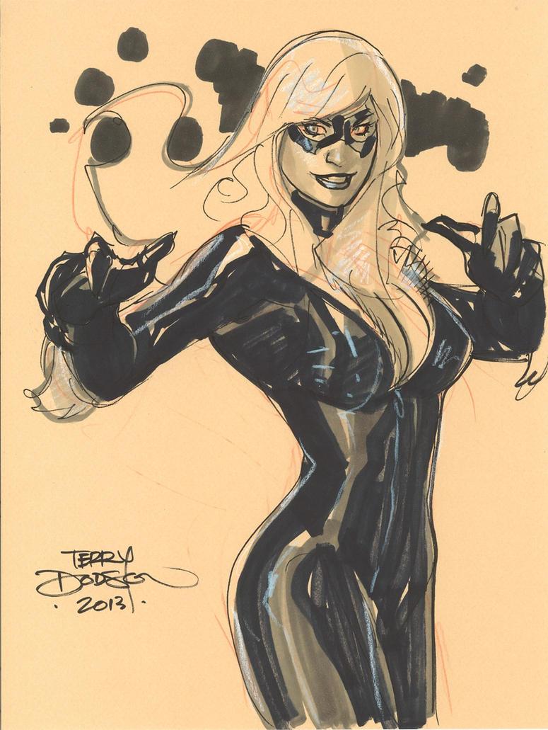 Black Cat 2 SDCC 2013 by TerryDodson