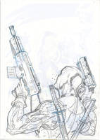DEADPOOL SUPERIOR SPIDER-MAN TEAM UP 1 Cover LA by TerryDodson