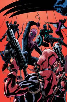 DEADPOOL SUPERIOR SPIDER-MAN TEAM UP 1 Cover Art
