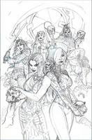 X-MEN #11 Cover Pencils by TerryDodson