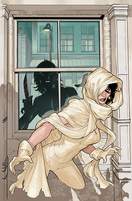 Ghost #3 Cover by TerryDodson