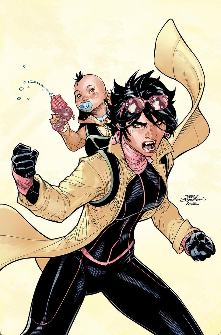 X-MEN #13 Cover by TerryDodson