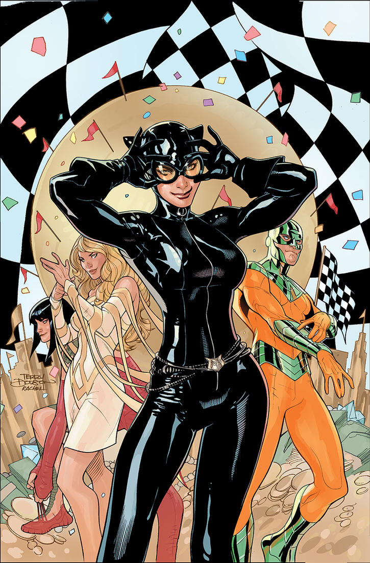 CATWOMAN 30 Cover by TerryDodson