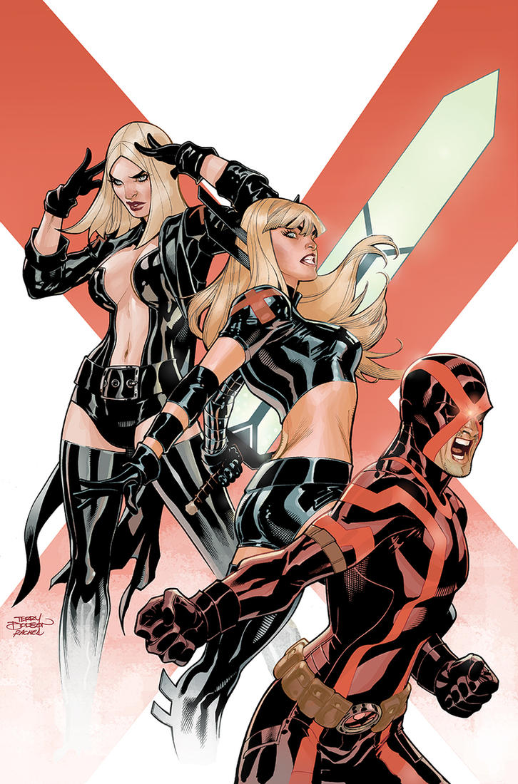 Uncanny X-Men 21 Variant Cover by TerryDodson