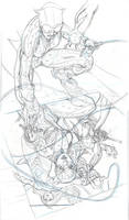 CATWOMAN 31 Cover Pencils
