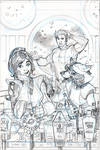 Star-Lord #1 Variant Cover Pencils