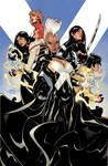 X-MEN #16 Cover color