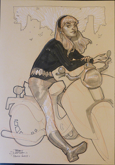 Gwen SDCC 2014 by TerryDodson