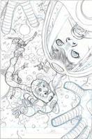 X-Men #18 Cover Pencils by TerryDodson