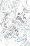 X-Men #18 Cover Pencils
