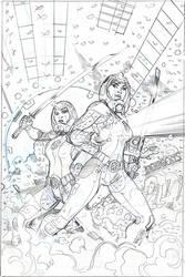 X-Men #19 Cover Pencil by TerryDodson