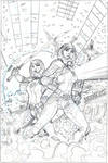 X-Men #19 Cover Pencil