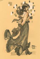 ELIZABETH SDCC2014 by TerryDodson
