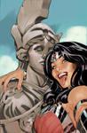 Wonder Woman #34 Selfie Variant Cover Color