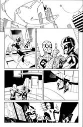 Avengers and X-Men: AXIS 5 Page 1 Inks by TerryDodson