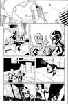 Avengers and X-Men: AXIS 5 Page 1 Inks