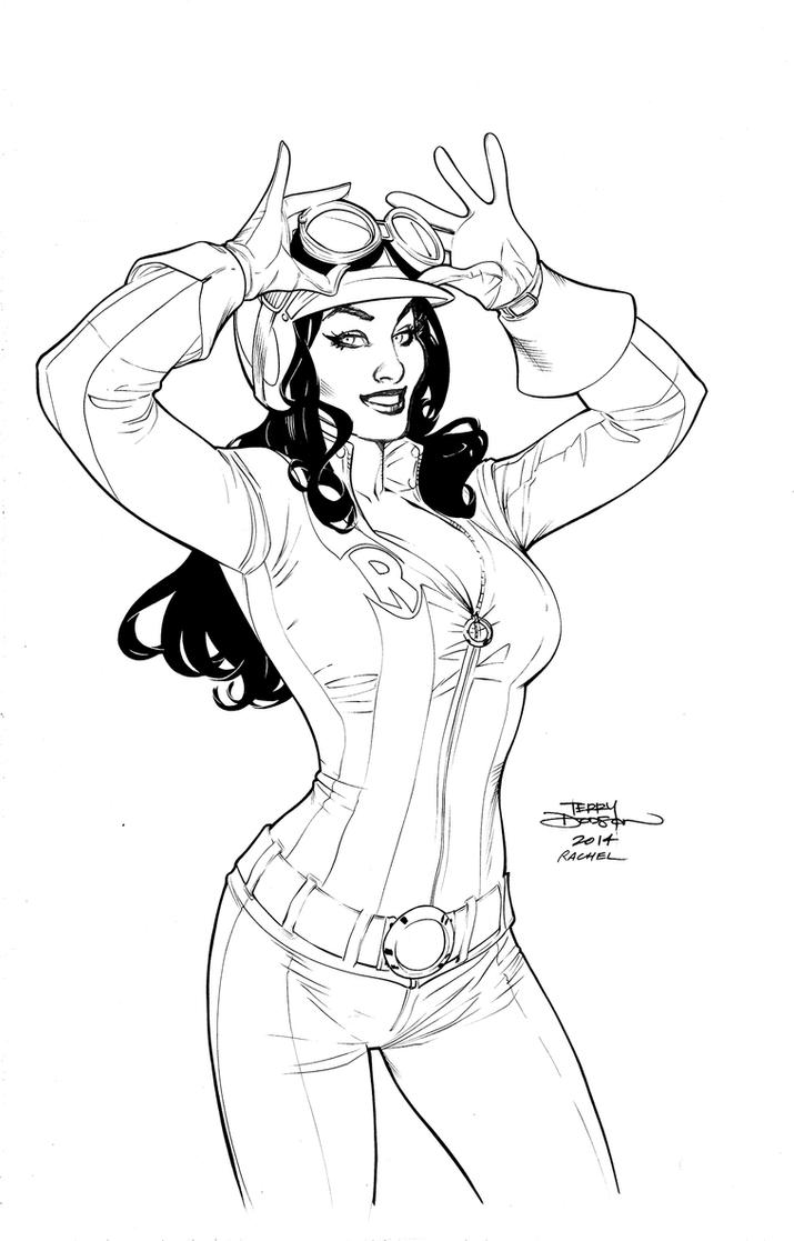 RED ONE #1 Lineart by TerryDodson