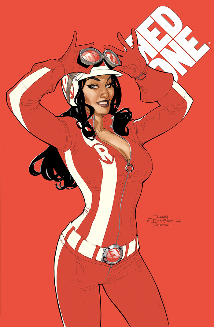 RED ONE #1 Cover by TerryDodson