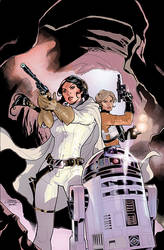 Star Wars: Princess Leia #3 Cover by TerryDodson