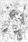 Star Wars: Princess Leia #4 Cover Pencils
