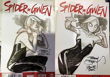 Spider-Gwen by TerryDodson