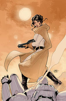 Star Wars: Princess Leia #5 Cover