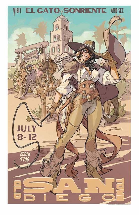 OLD TOWN SAN DIEGO Print by TerryDodson