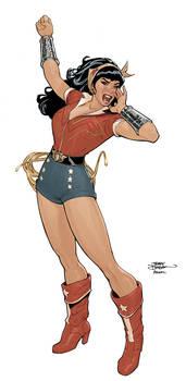 JLA 3 Wonder Woman Bombshells Cover