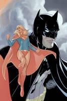 Batman #50 Variant cover by TerryDodson