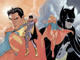 Batman VS Superman by TerryDodson