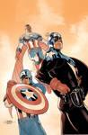 Captain America 75th Cover Pencils