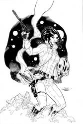 Princess Leia Take Two by TerryDodson