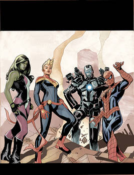 Civil War II #1 Cover