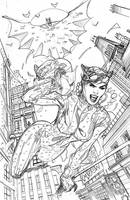 Batman Rebirth #1 Variant Cover Pencils by TerryDodson